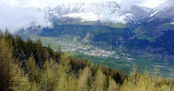 Schlanders im Vinschgau Südtirol