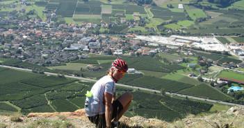Blick auf Laas im Vinschgau