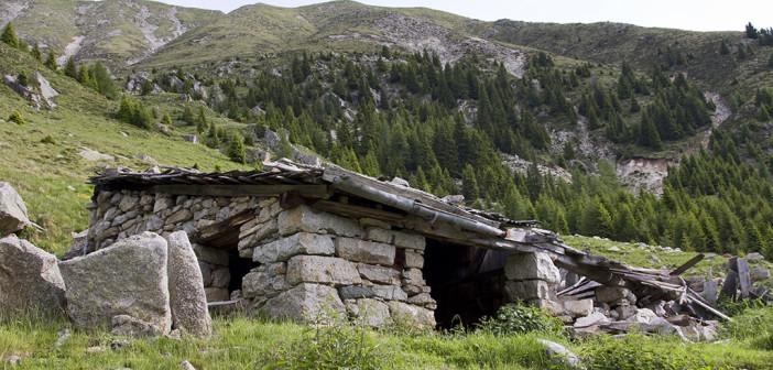 Berghütte im Vinschgau